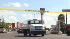 Escenas de guerra en México tras operativo por hijo del Chapo