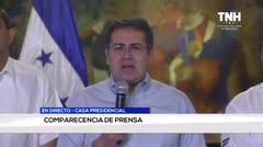 Protestan en Honduras para que renuncie el presidente al que acusan de narco