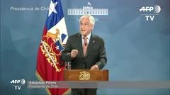 Presidente de Chile anuncia suspensión de alza en tarifa del metro de Santiago