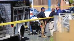 Dramática escena de un doble asesinato en Puerto Nuevo