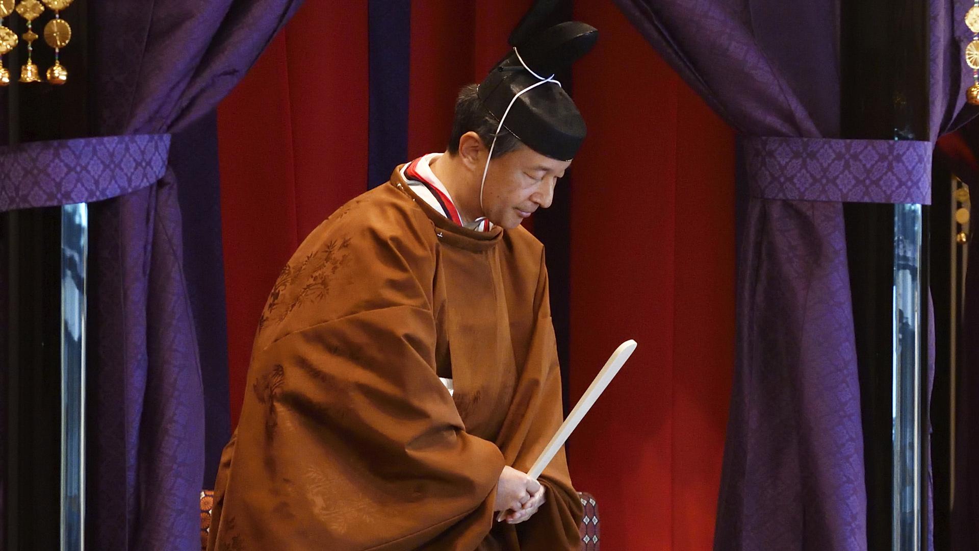 Mira cómo entronizaron a Naruhito, el nuevo emperador de Japón