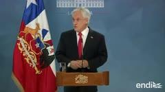 Piñera pide perdón al pueblo por su incapacidad para anticipar estallido social en Chile