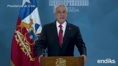 Sebastián Piñera pide perdón al pueblo de Chile