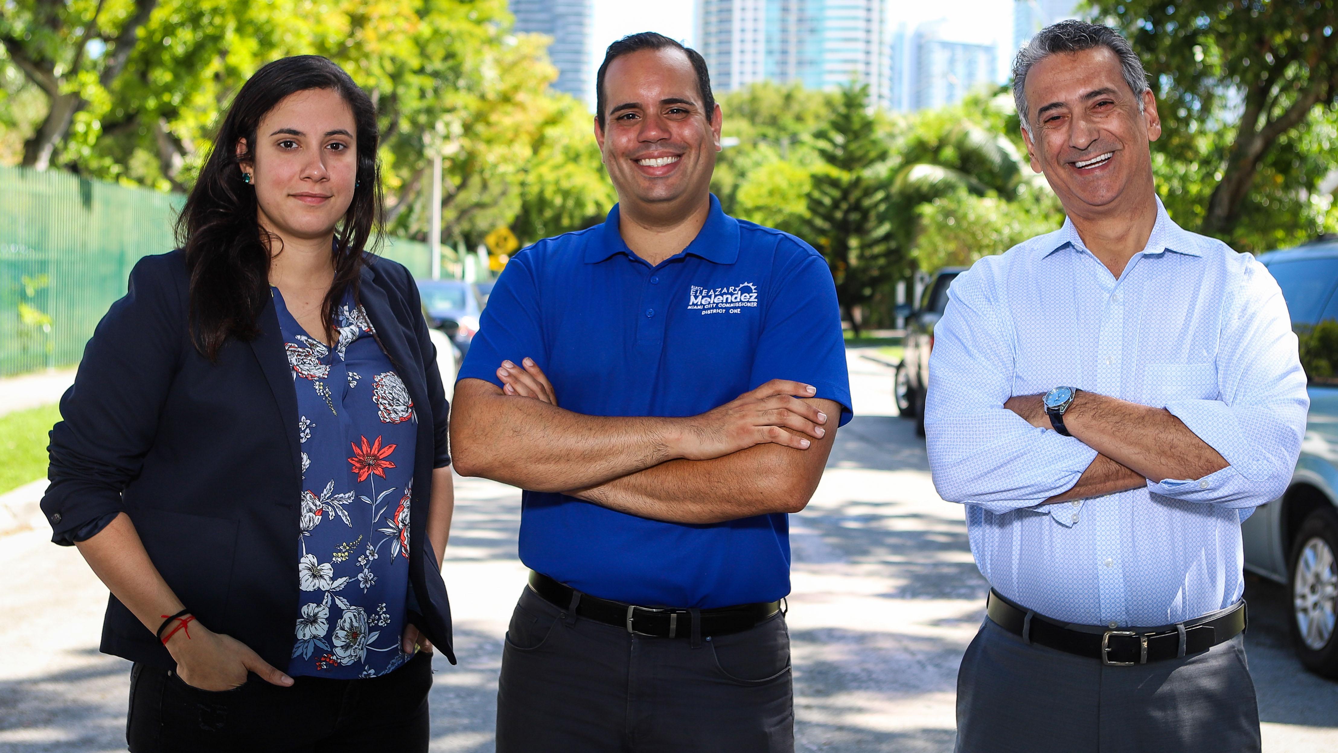 Conoce a los tres boricuas que aspiran a puestos electivos en el sur de Florida