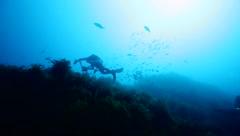 """Estos buzos se sumergen en el Océano Atlántico en busca de """"fantasmas"""""""