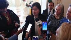 """Maite Oronoz llega al Capitolio: """"Esto es parte de un plan más amplio"""""""