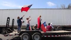 Se paraliza Chile con la huelga general