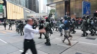 Cierran escuelas y universidades en Hong Kong por cuarto día consecutivo