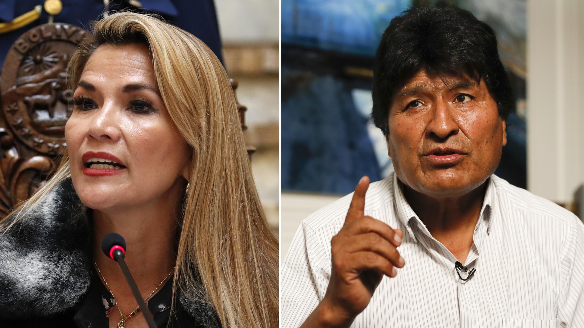 Nueva presidenta de Bolivia le declara la guerra a Evo Morales
