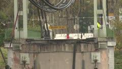 Dan la causa del colapso de un puente en Francia