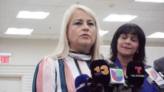"Wanda Vázquez pide ""calma"" ante su posible aspiración a la gobernación"