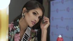 Mira cómo se preparan las concursantes de Miss Universe antes de la competencia