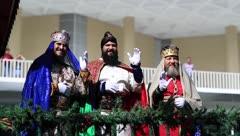 Llegan los Reyes Magos a Ponce