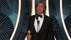 Emotiva dedicatoria de Brad Pitt a Leonardo DiCaprio y a su vida amorosa