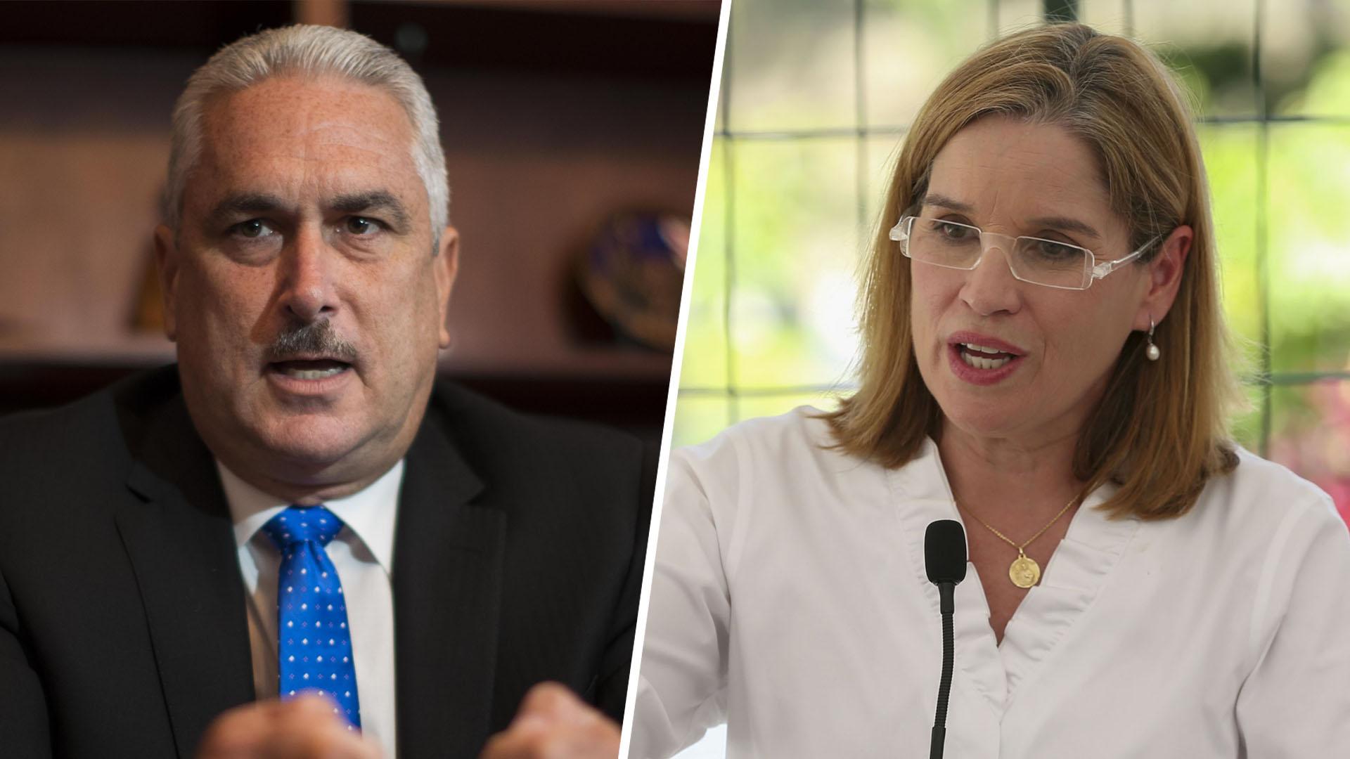 """Carmen Yulín a Rivera Schatz: """"Ocurrió un milagro en Puerto Rico"""""""