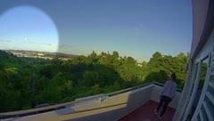 Así fue que se vio el meteoro cruzando el cielo de Puerto Rico