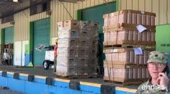 Interviene la Guardia Nacional para repartir suministros del almacén de Ponce