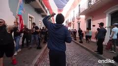 """Nueva protesta en La Fortaleza: """"¡Wanda renuncia!"""""""