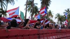 Puertorriqueños indignados sacuden la calma del Capitolio