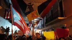 Manifestantes regresan a Fortaleza para continuar con protestas