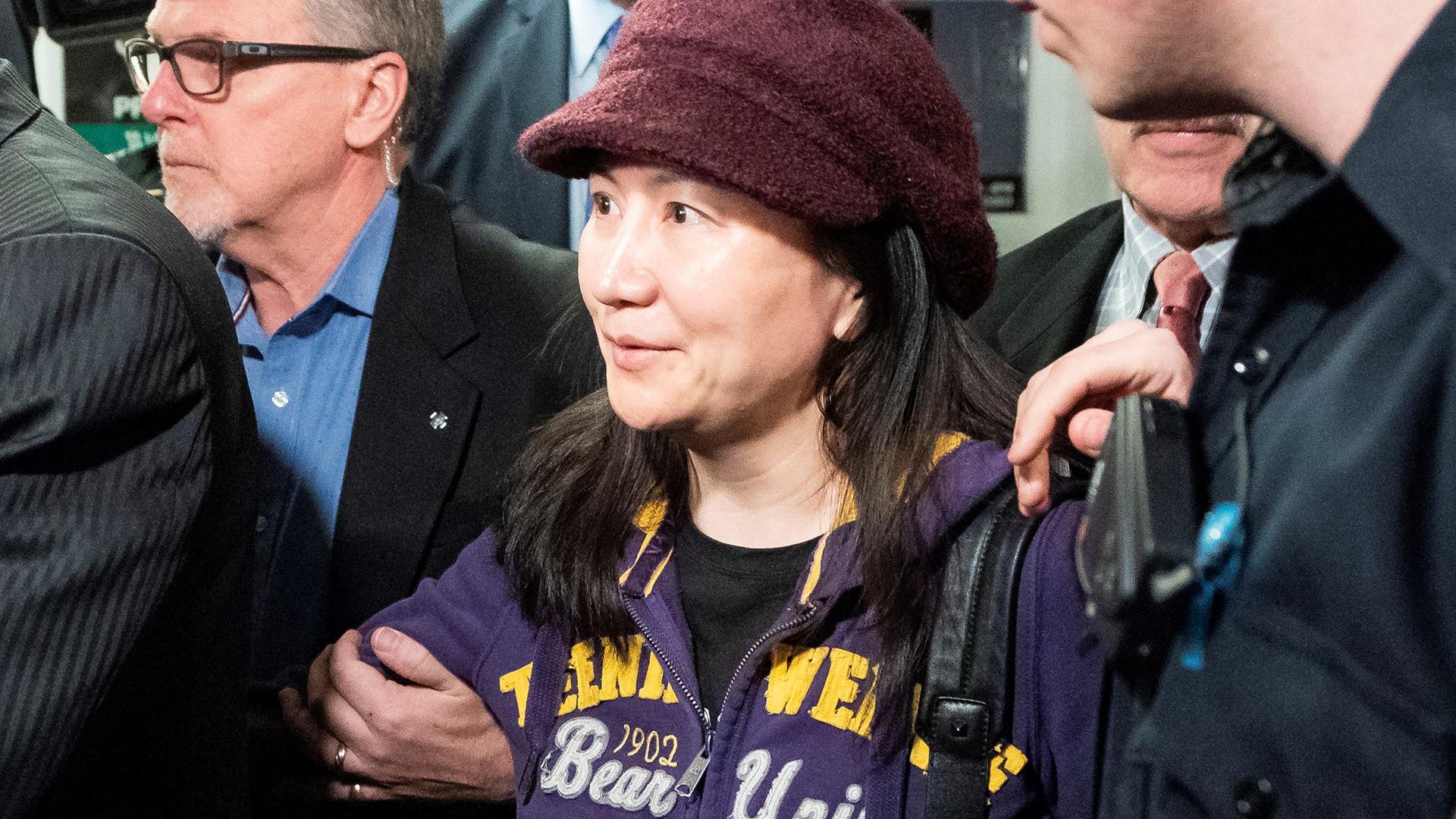 "La ""princesa de Huawei"" lucha para no ser extraditada a Estados Unidos"