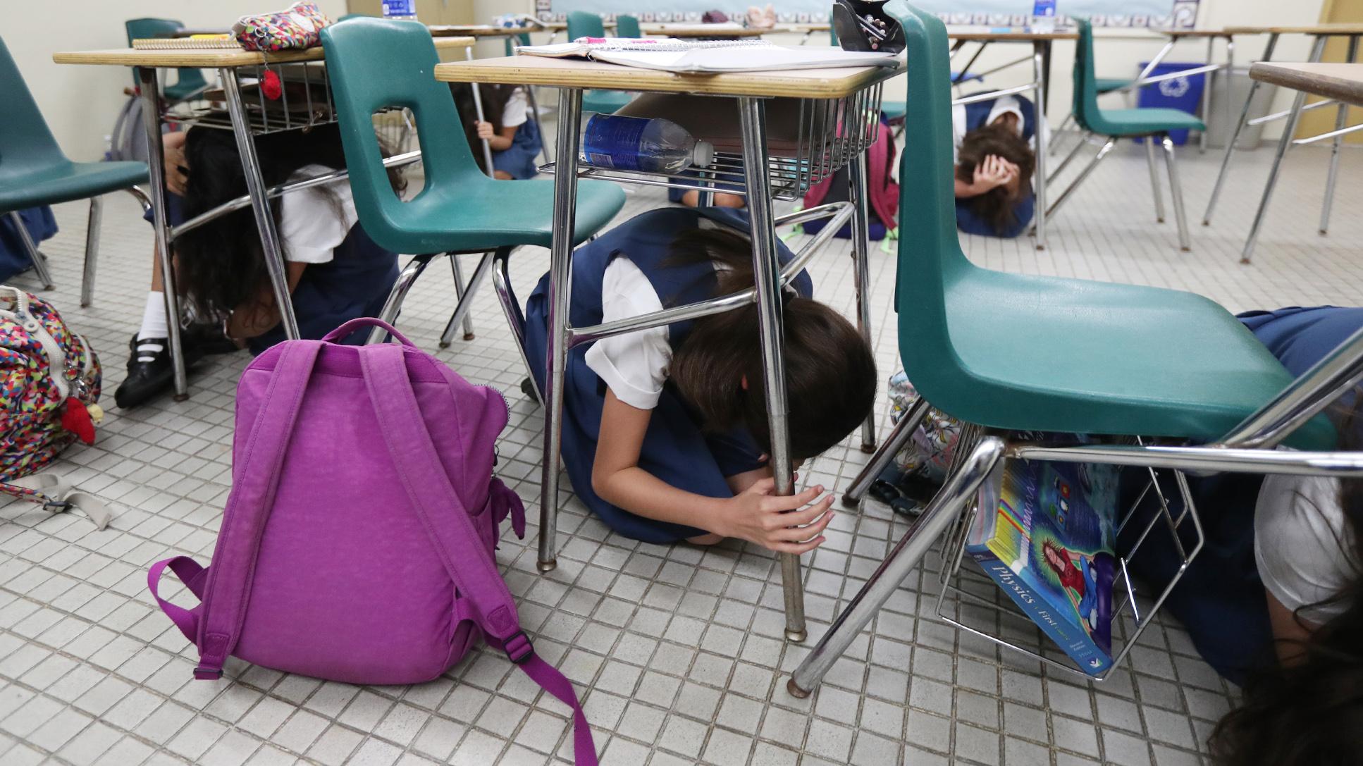 Simulan un terremoto en el Colegio Puertorriqueño de Niñas