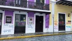 Mira lo que dejaron en Viejo San Juan luego de la marcha