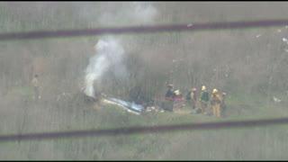 Mira las imágenes del lugar donde sucedió el accidente de Kobe Bryant