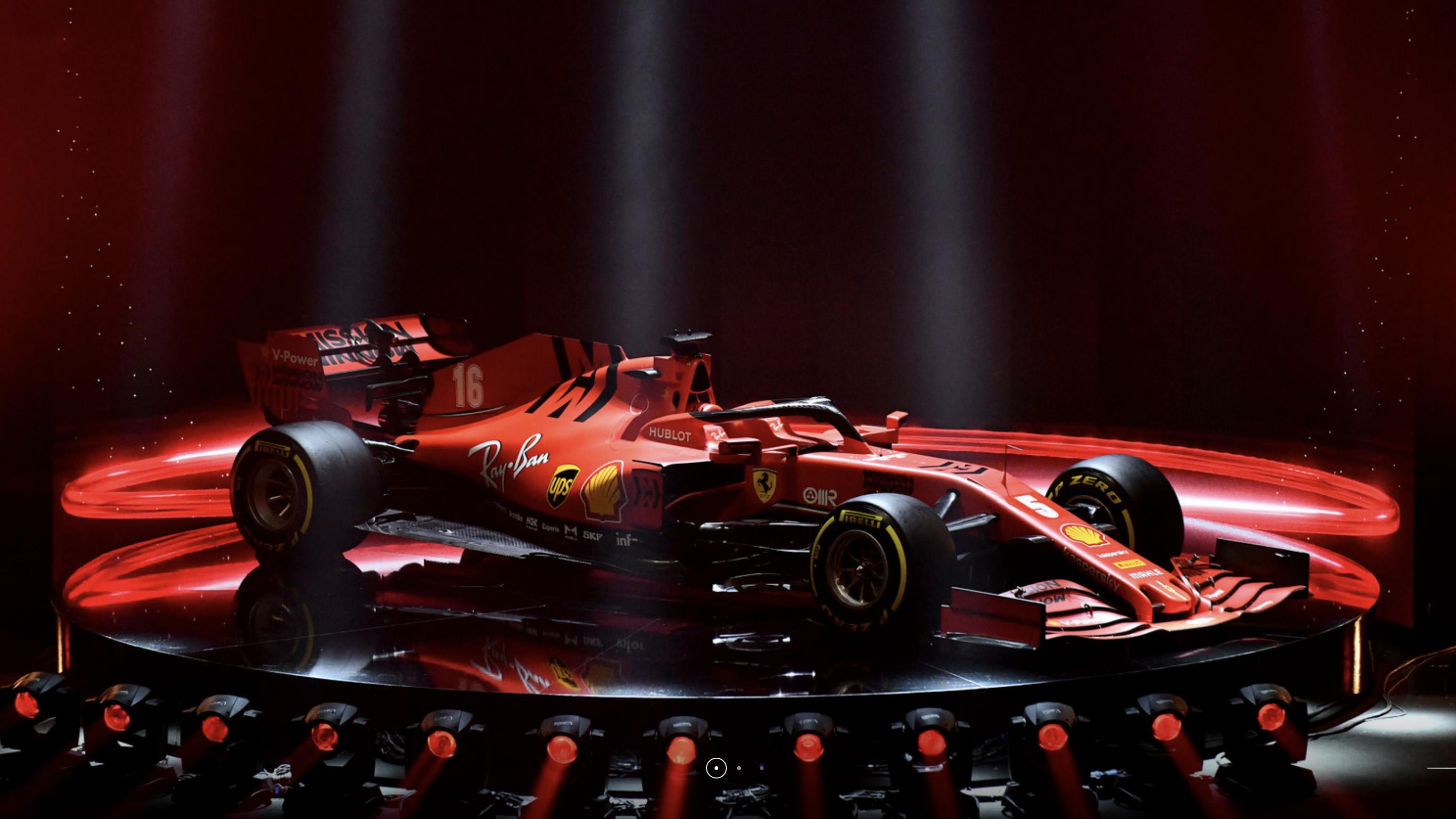 Impresionante presentación del nuevo Ferrari SF1000