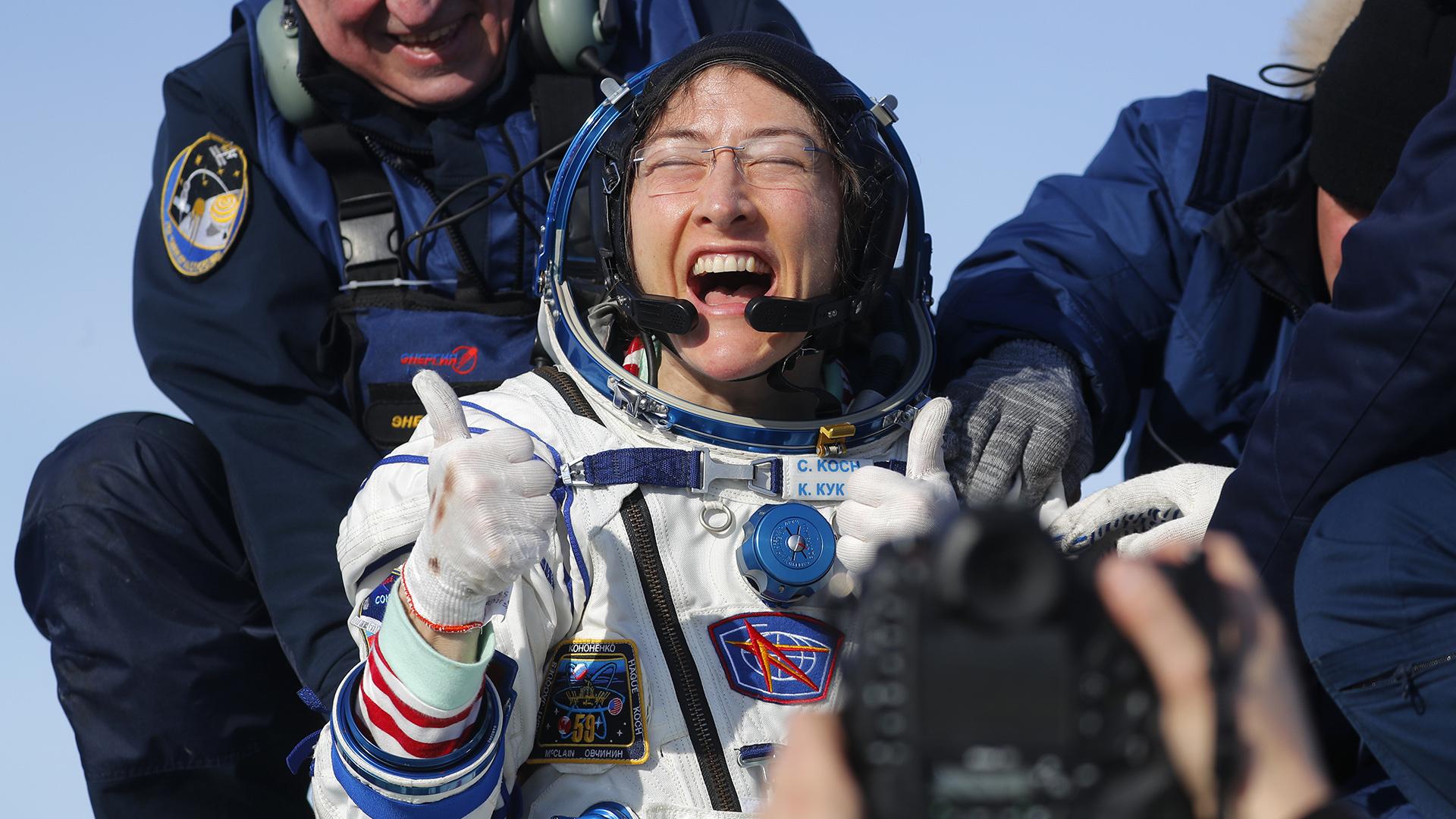 Astronauta confiesa cómo su cuerpo cambió cuando volvió a la Tierra