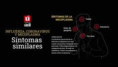 Conoce el micoplasma y cómo se distingue de la influenza