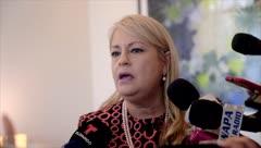 "Wanda Vázquez: ""Tuve una emergencia familiar"""