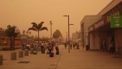 Impactante el polvo del Sahara en las Islas Canarias