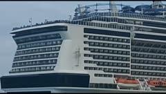 Controversia por llegada de crucero a México