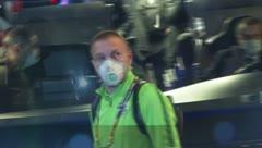 Ludogorets usan máscaras antes de enfrentar al Inter de Milán a puerta cerrada
