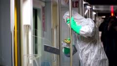La epidemia del coronavirus llega a África
