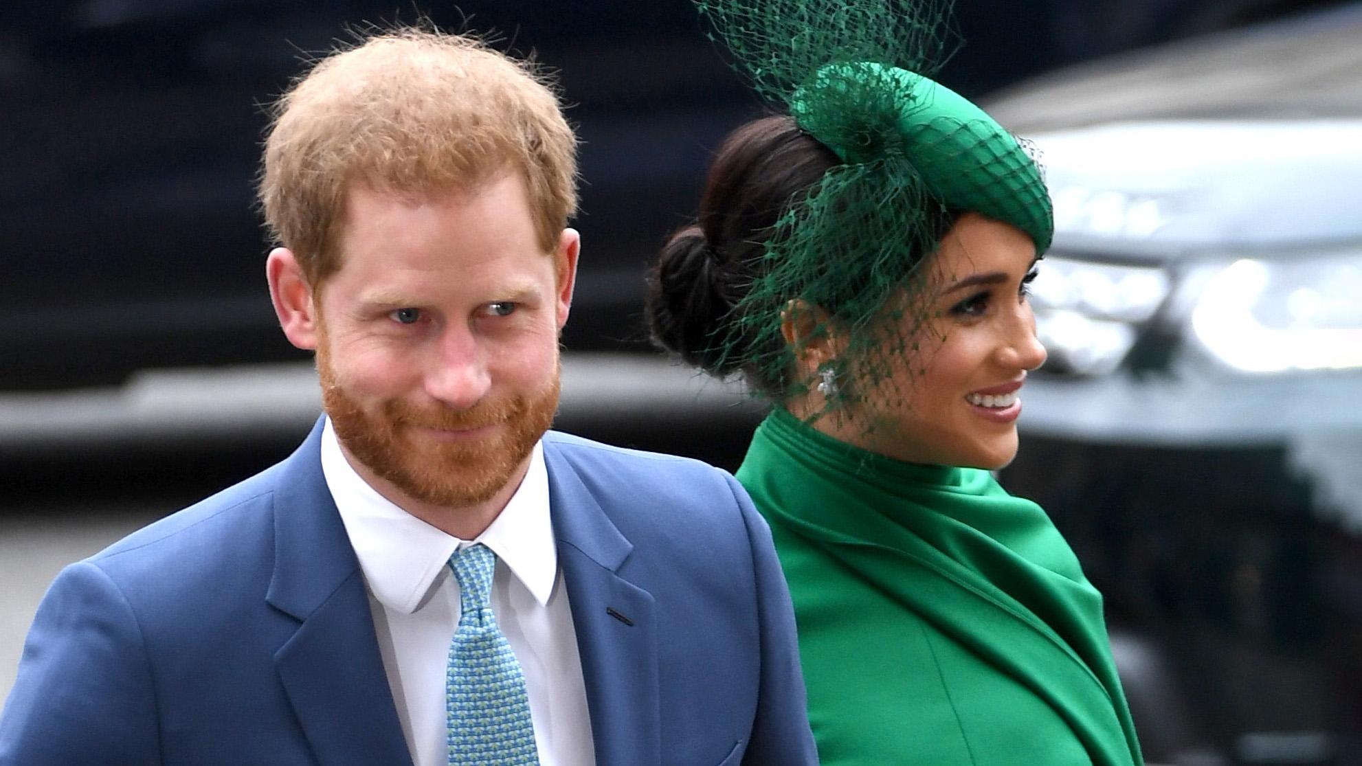 Harry y Meghan le dicen adiós a la realeza británica