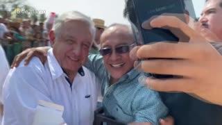 "Presidente de México llama a ""quedarse en casa"" ante aumento de casos de COVID-19"