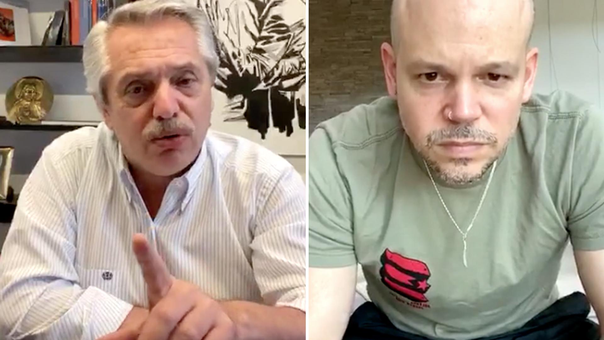 """Presidente de Argentina a Residente: """"Nadie se salva solo"""""""