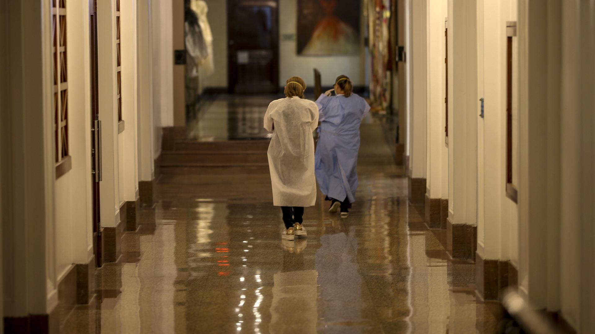 Lo que vimos en el Capitolio durante crisis del coronavirus