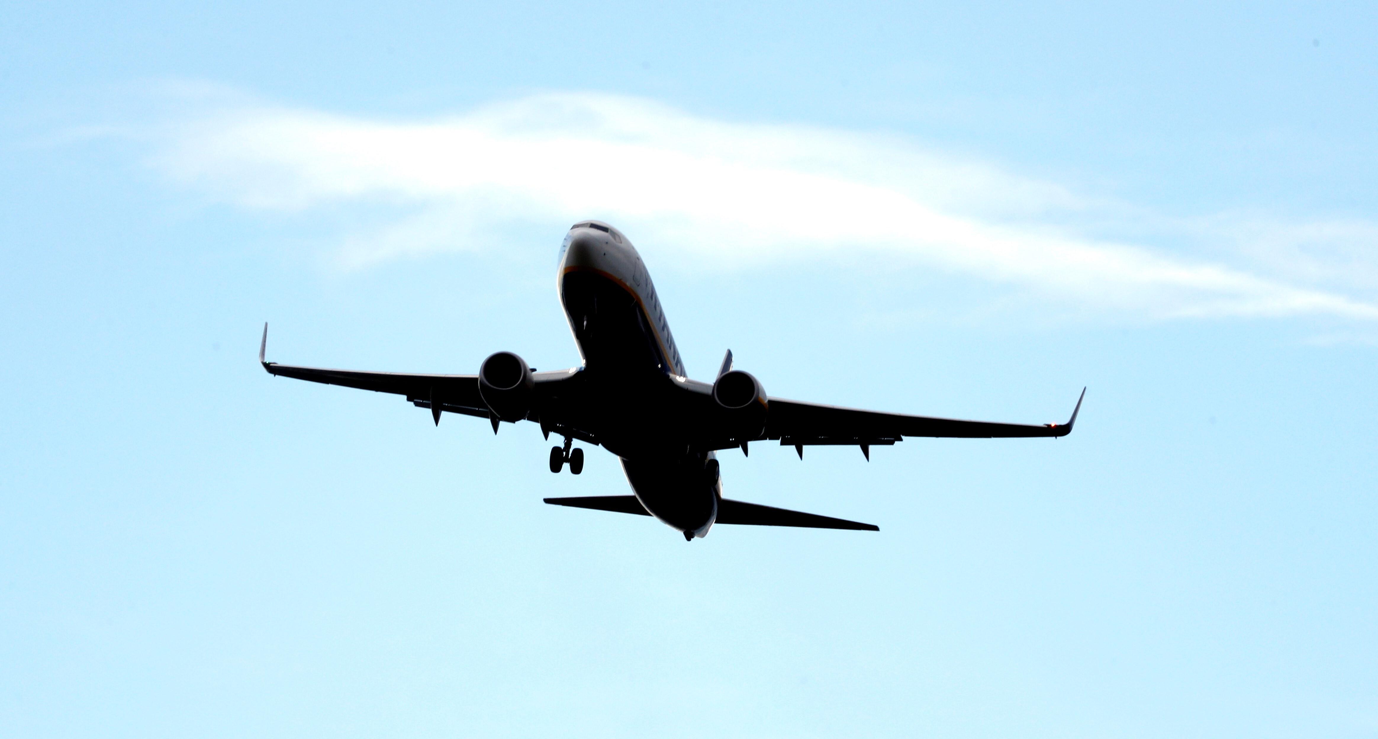 Dramática caída del tráfico aéreo en el mundo