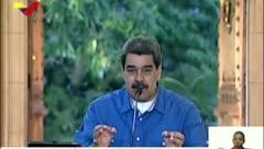 """Nicolás Maduro desplegará artillería ante """"acciones armadas"""" contra Venezuela"""