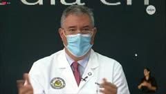 """Coordinador del task force médico: """"¡Ya está bien con este chisme de Apex!"""""""