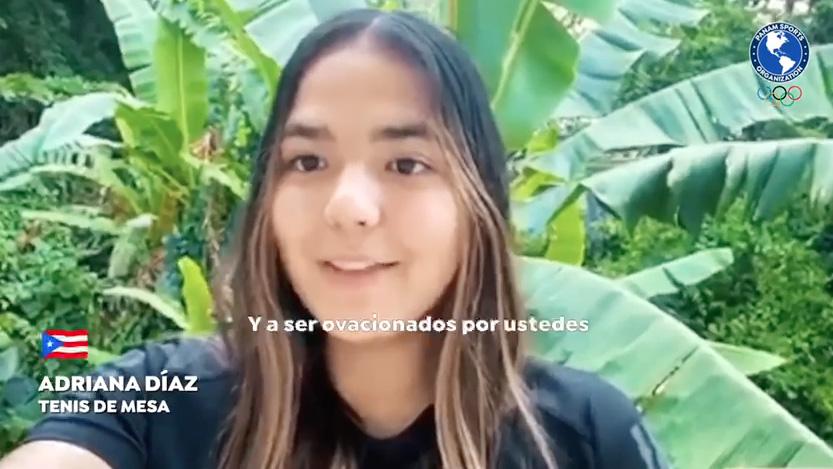 Adriana Díaz participa en campaña para rendirle homenaje a los profesionales de salud