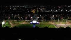 Colombianos ven cine desde sus balcones