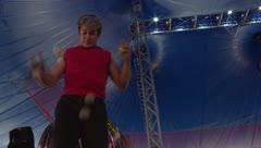 La vida de un circo bajo el terror del COVID-19
