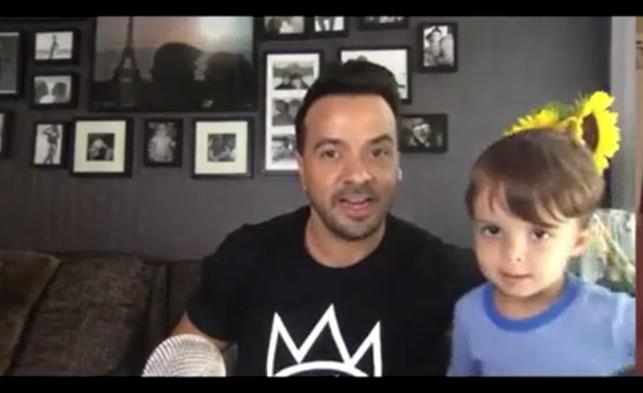 Saludo sorpresa del hijo de Luis Fonsi en entrevista con El Nuevo Día