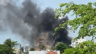 Incendio en residencia de Ocean Park