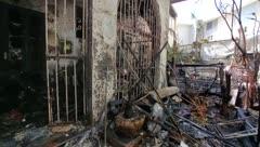 Así quedó destruida por fuego una casa en Ocean Park