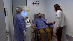 Así es la donación de plasma con sobrevivientes de COVID-19